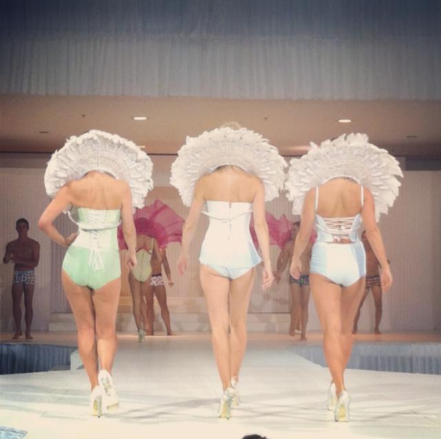 lingerie runway show