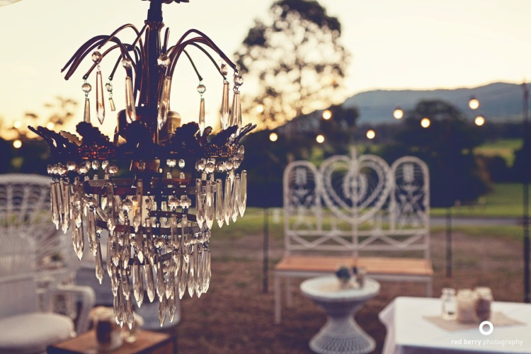 wedding styling decorating lighting