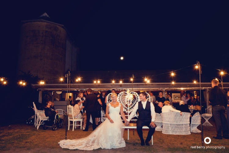 wedding styling decorating festoon lighting