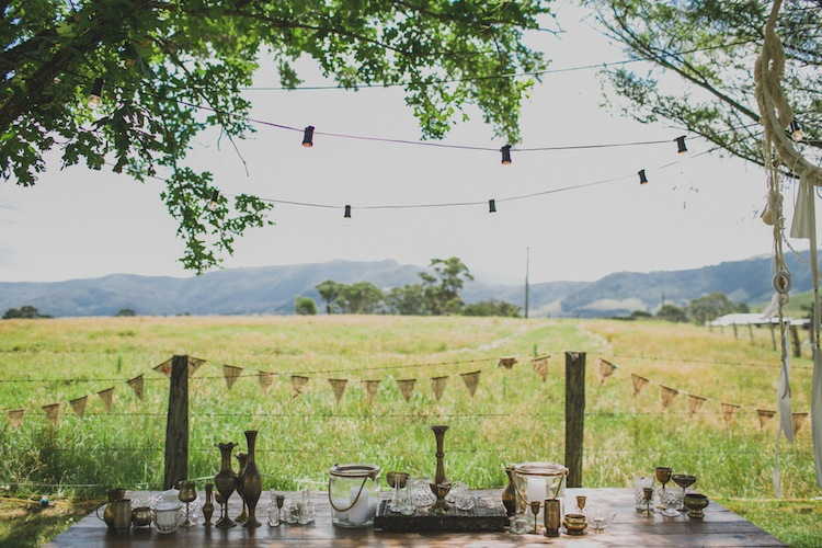 she designs events south coast and sydney wedding styling