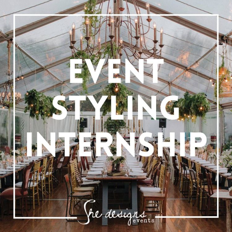 event styling internship